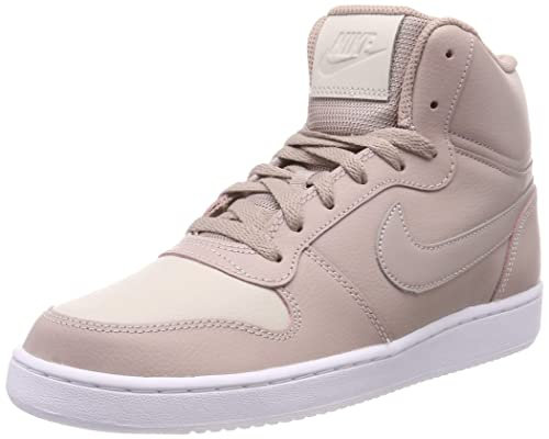 best loved 54405 65020 Nike Women s Wmns Ebernon Mid Basketball Shoes, Beige (Diffused  Taupe Diffused Taupe 200