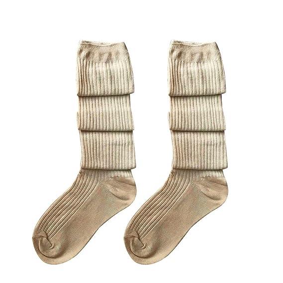 calcetines hasta la rodilla calcetines de deporte medias largas del ...