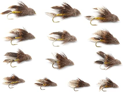 Size 6 2 Flies MUDDLER MINNOW Streamer Streamers Fly Fishing