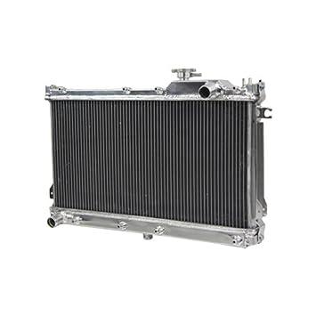 primecooling aluminio Turbo radiador para Mazda MX5 Miata 1990 - 1997: Amazon.es: Coche y moto