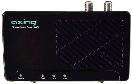 Axing EOC 2-01 Ethernet por Cable coaxial con WiFi (módem Adicional)