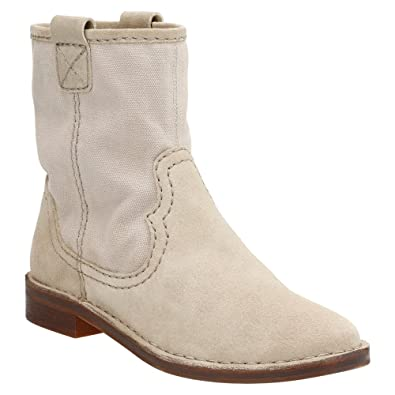 CLARKS Clarks Women s Cabaret Stage Ankle Boot Sand Suede Coupons