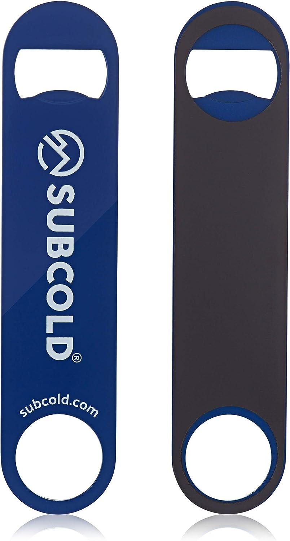 Blue Subcold Bartenders Bar Blade 180 * 40mm Stainless Steel Bottle Opener for Beer Caps