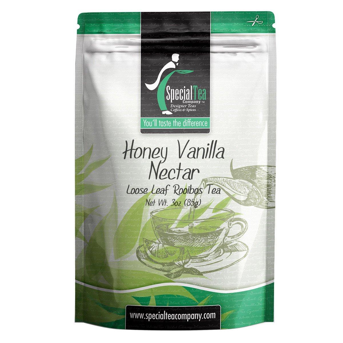 Special Tea Honey Vanilla Nectar Rooibos Tea, Loose Leaf, 3 Ounce