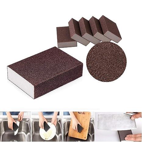 10pcs Nano borrador mágico limpieza estropajo esponja eliminar Stubborn manchas y Mark limpiador para libre de