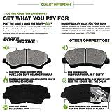 Ceramic Discs Brake Pads,SCITOO 4pcs Front Brake