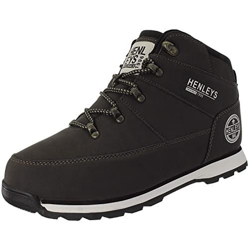 quality design cute new york Henleys Men's Oakland Casual Fashion Boots Brown