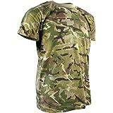 Kombat UK Camo Camiseta, Bebé-Niños