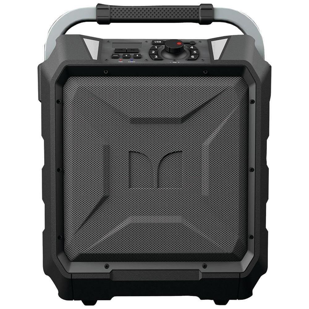 Monster Rockin' Roller 2   80 Watts, 100 Hour High Performance Water Resistant Outdoor/Indoor Wireless Bluetooth Speaker, Night View LED (Black)