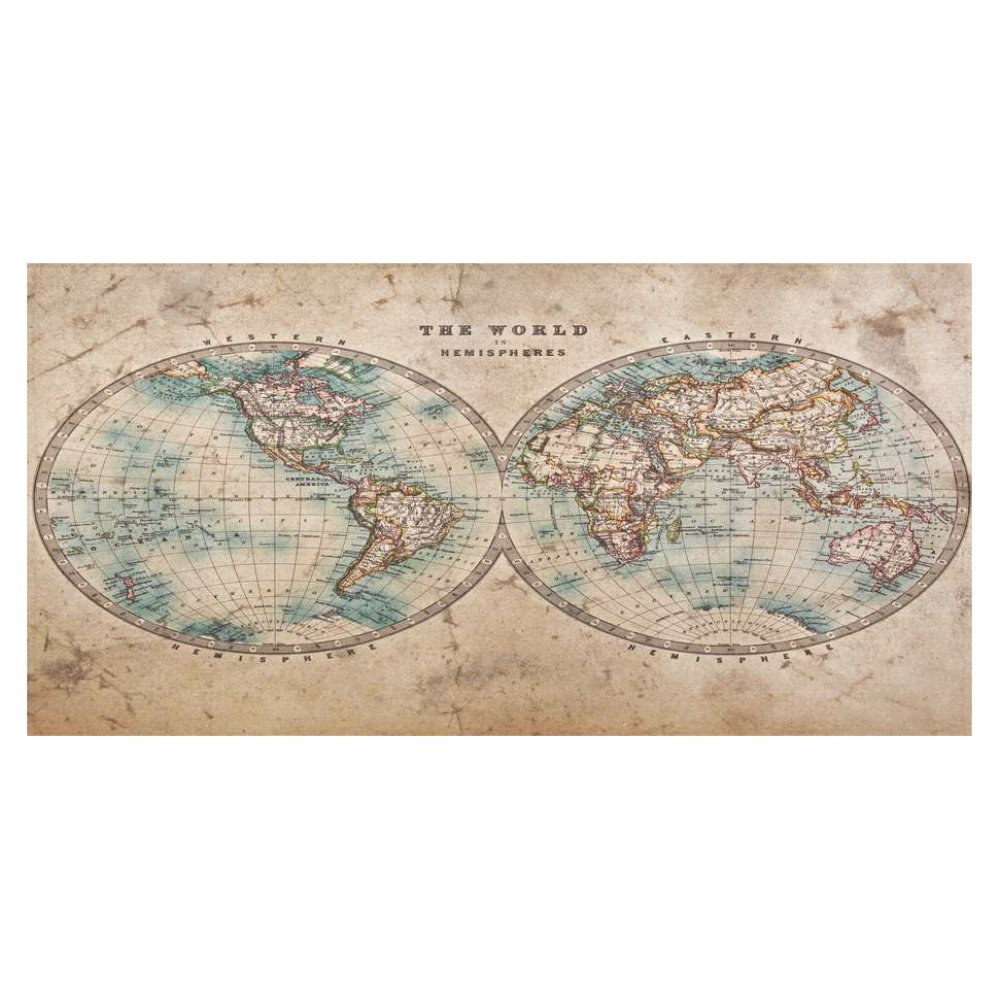 Amazon interestprint home decoration retro world map cotton amazon interestprint home decoration retro world map cotton linen tablecloth sets 60 x 120 inches antique old map desk sofa table cloth cover for gumiabroncs Choice Image