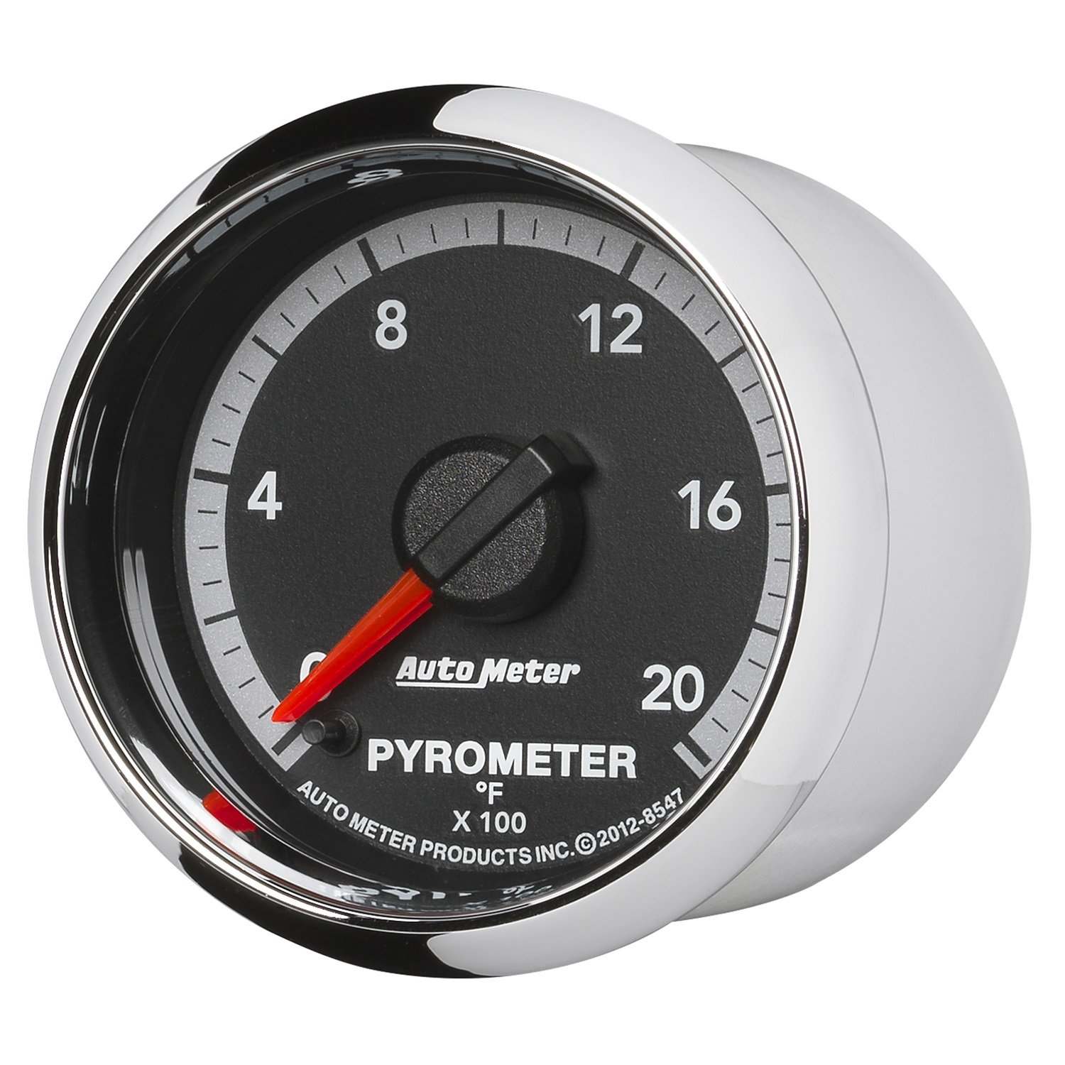 Auto Meter 8547 Factory Match 2-1/16'' Electric Pyrometer (0-2000 Degree F, 52.4mm)