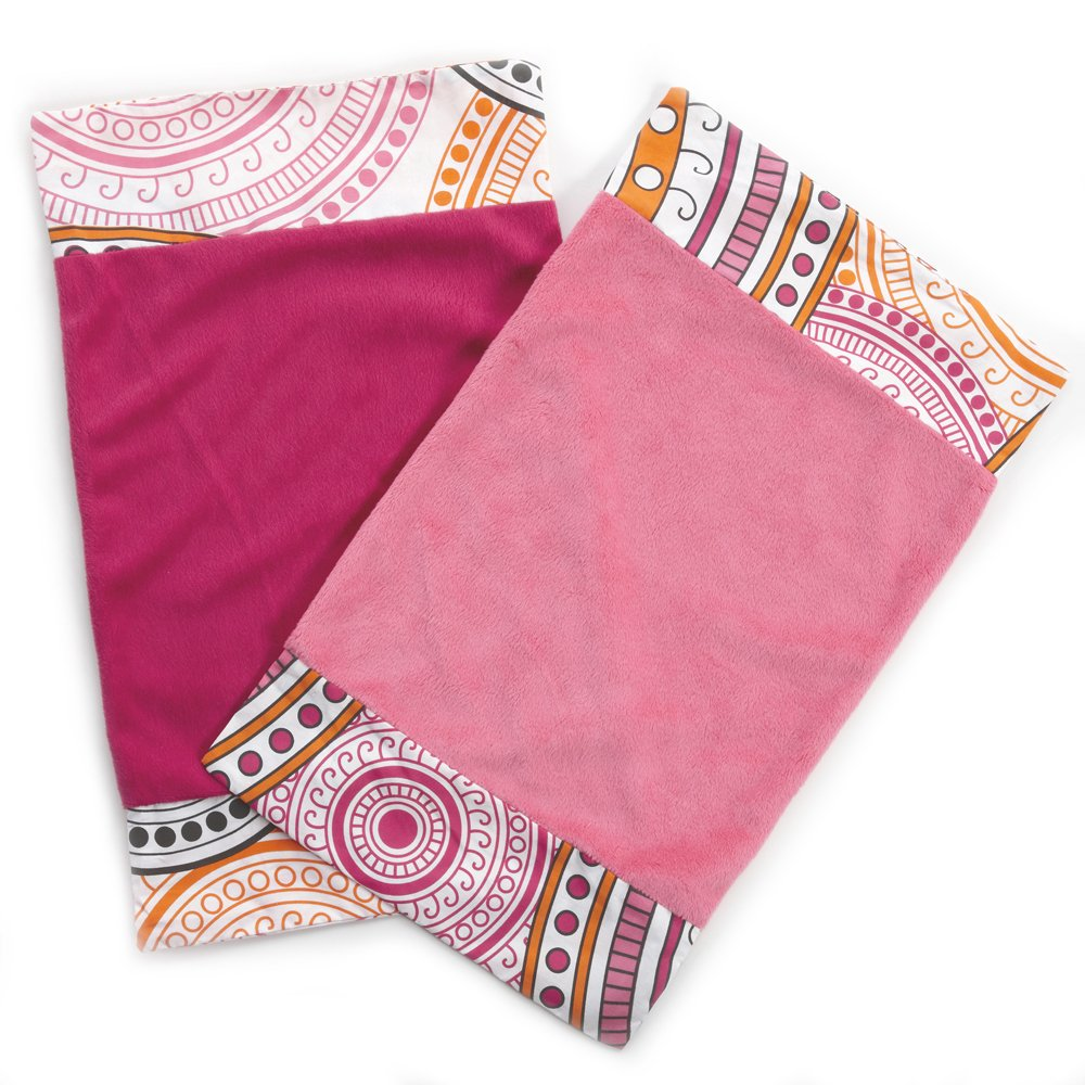 One Grace Place 10-27026 Sophia Lolita-Burp Cloth White, Pink, Berry, Orange, Black Yeelein