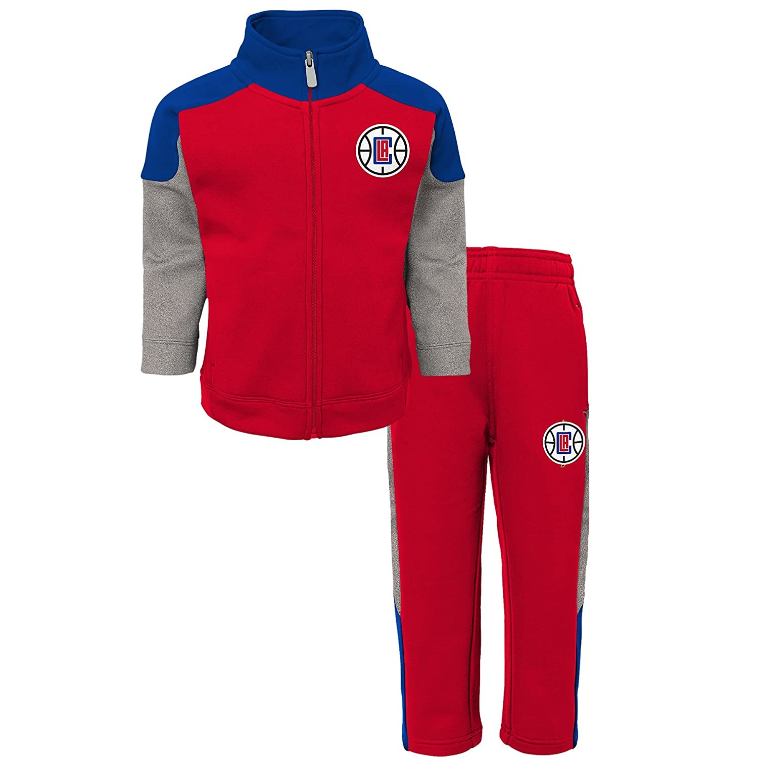 NBA Toddler One and One Pant Set Los Angeles Clippers-Red-3T