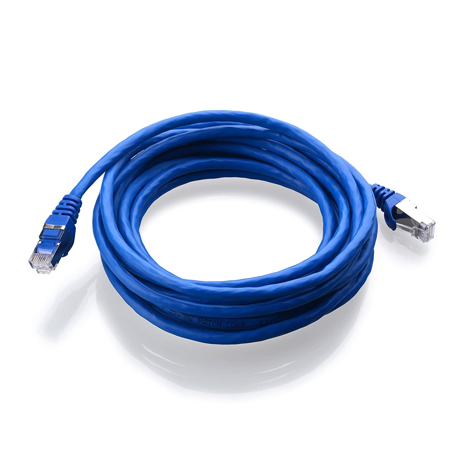 Cable Matters Snagless Cat 6a Cat6a Sstp Sftp Cableorganizer Cat5e Patch 14ft Blue Shielded Ethernet In 14 Feet Availble 1ft 200ft Length Computers