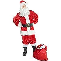 Costume del Natale Deluxe di Babbo Natale Polo Nord - Std (Pecho 42-44 pulgadas/107-112 cm)