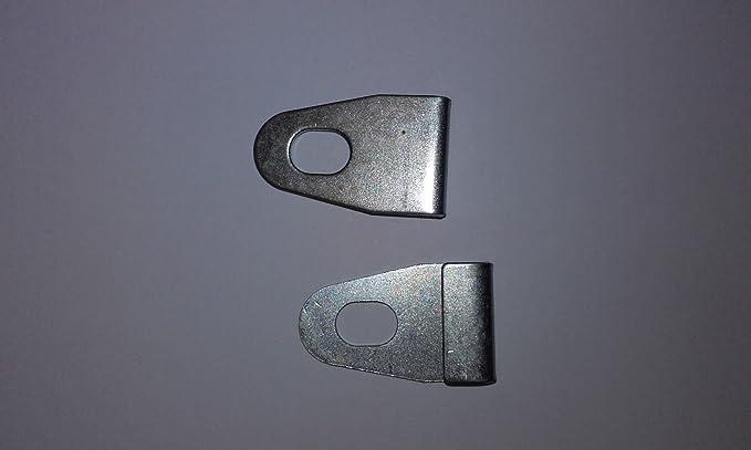 Duokon 100 st/ücke Gew/ächshaus Basis Clips Splitter Metall J Clips Befestigungen Befestigungen Kit Tool Basis Befestigung Clip