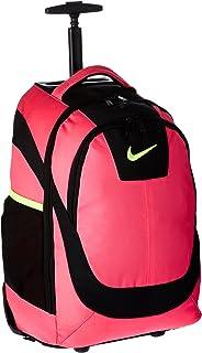 nike rolling backpack black
