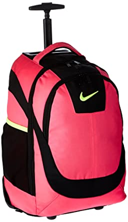 Amazon.com: Nike Accessories Rolling Laptop Backpack (Hyper Pink ...