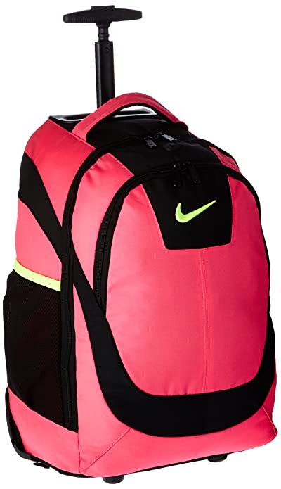 8a3ed15398319 Amazon.com: Nike Accessories Rolling Laptop Backpack (Hyper Pink ...
