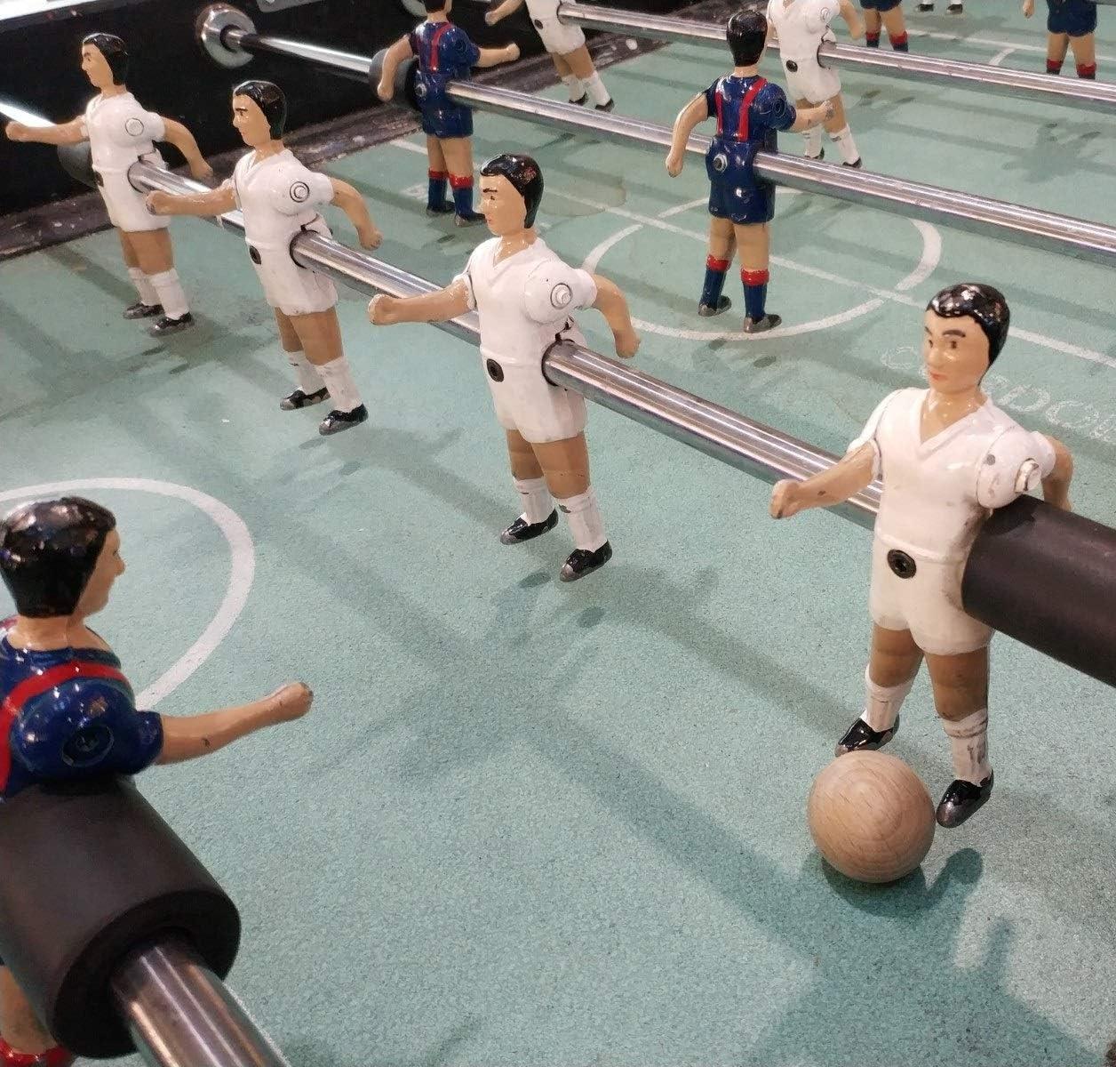 Gerileo Lote de 10/20/30 Bolas de futbolín de Madera de Haya 33mm - Remplazo, Recambio, balones, Pelota (20 Bolas): Amazon.es: Juguetes y juegos