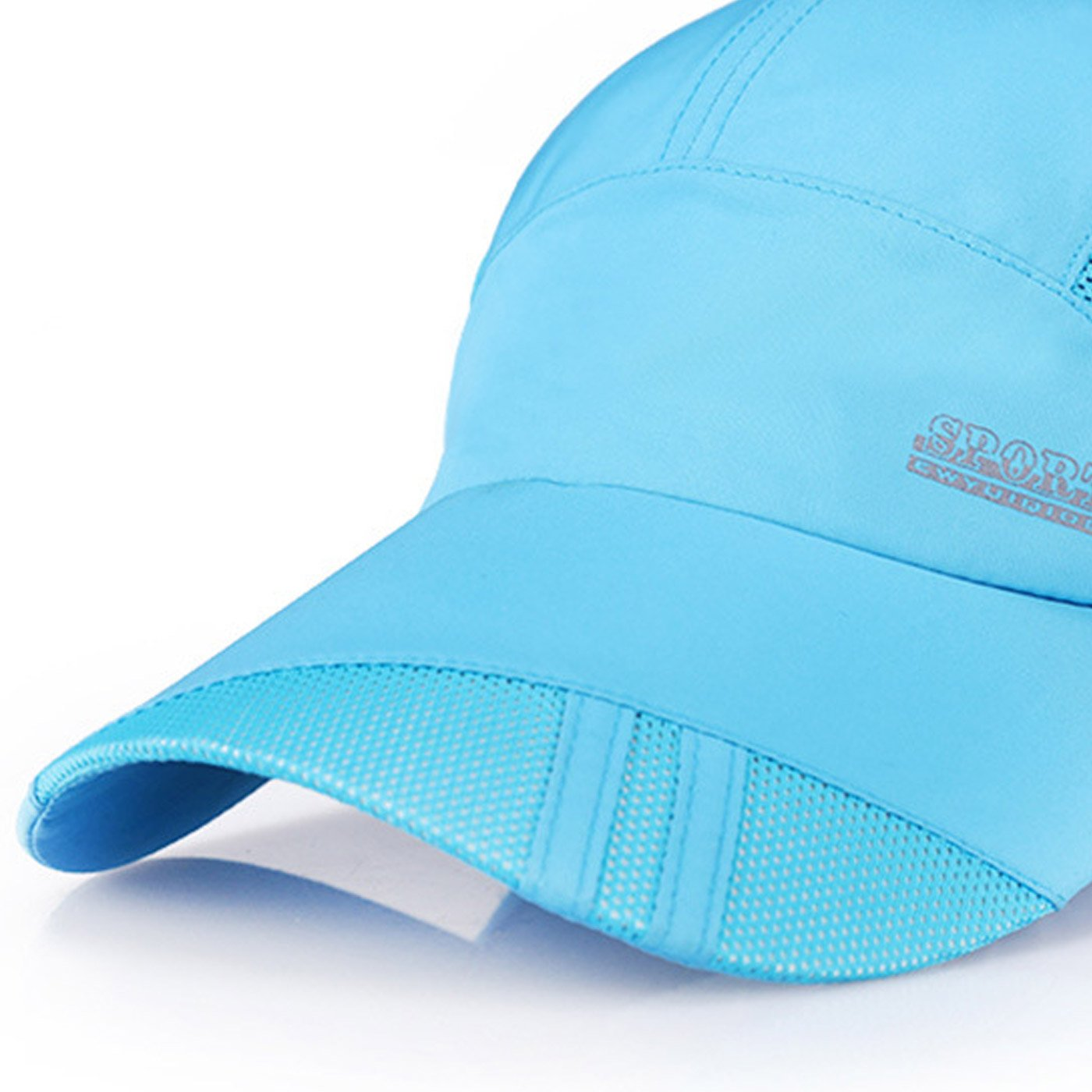 Panegy Unisex Mesh Anti-UV Sun Hat Breathable Dry Quickly Hiking Mountaineering Cap