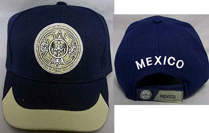 c85af80b45c Image Unavailable. Image not available for. Color  Mexico Aztec Mexican  Baseball Caps Hats ...