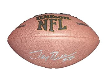 Jerry Rice Autographed Wilson NFL Football W PROOF 17008b5ba