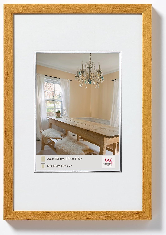 Walther Design BP045E Peppers Bilderrahmen, Holz, 30 x 45 cm, Eiche ...