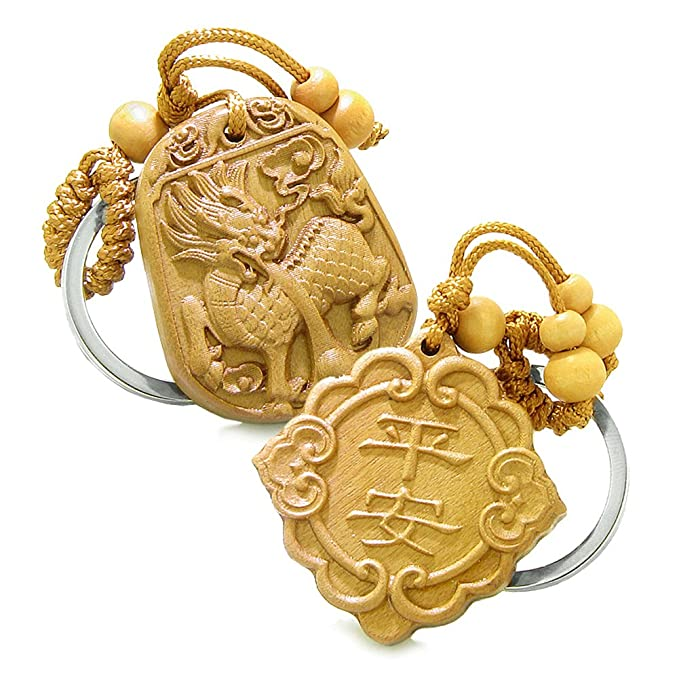 Amazon Good Luck Feng Shui Symbols And Magic Dragon Double