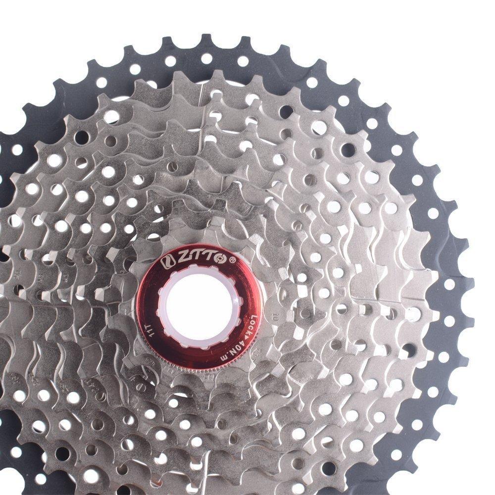 Piñ ones de casete para bicicleta-11-42T , 10 velocidades, 10 S de anchura ZTTO