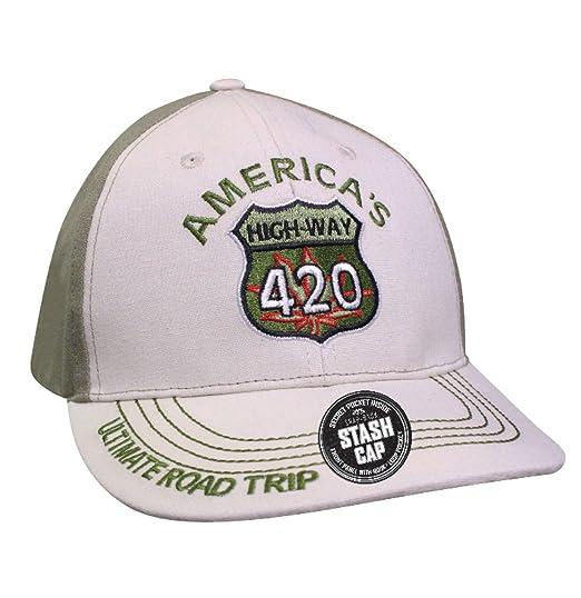 Down Home Baseball Stash Hat (Dk Brown)