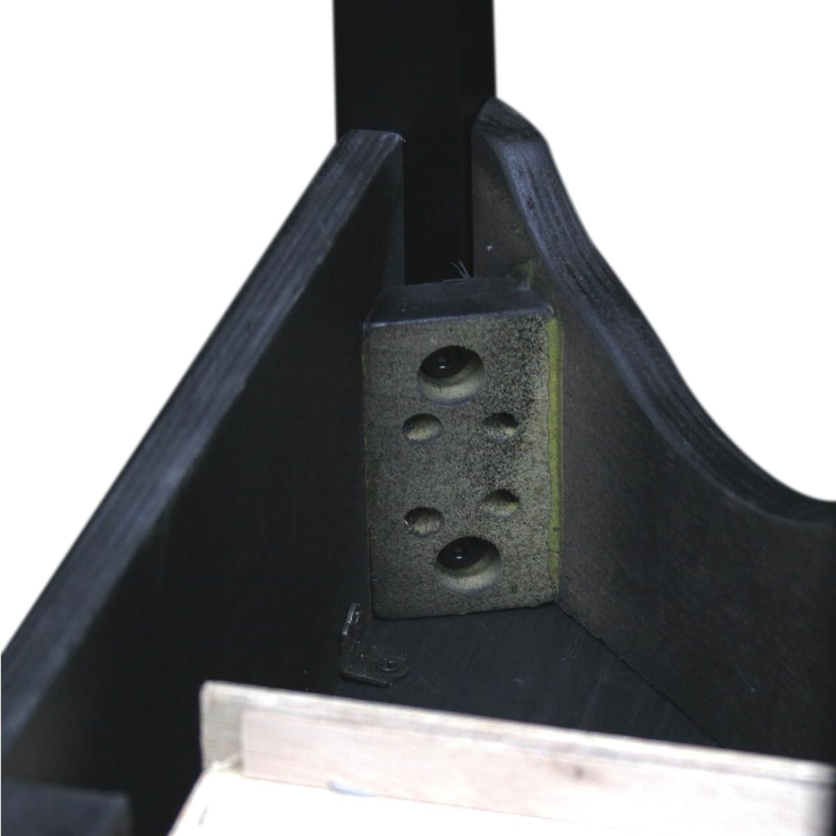 Leick Demilune Console Table - Slate Black