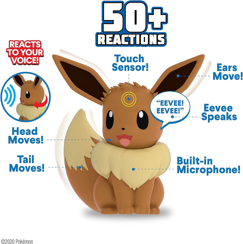 Pokémon Electronic My Partner Eevee with Sound /& Motion