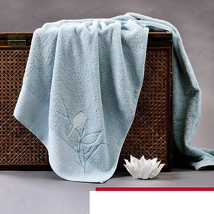 algodón toalla de baño gruesa/ toallas de algodón satén liso/Agua suave toalla de