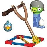 Angry Birds - T72612 - Jeu de Construction - Blue Bird Vs Helmet Pig