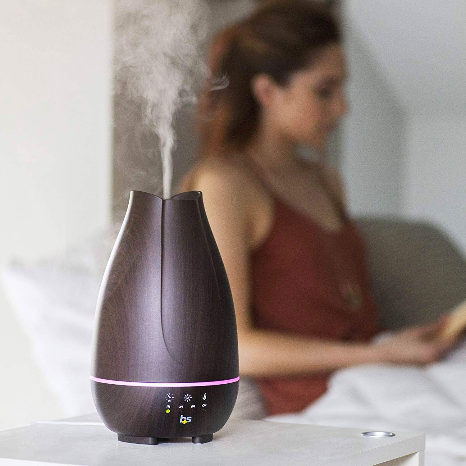 Essential Oil Diffuser and Cool Mist Humidifier! .91 at Amazon!