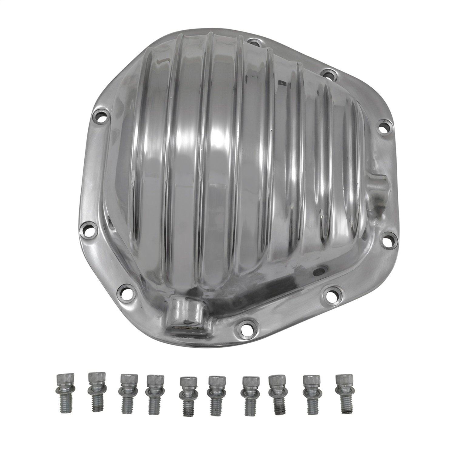 Yukon (YP C2-D60-STD) Polished Aluminum Replacement Cover for Dana 60 Differential