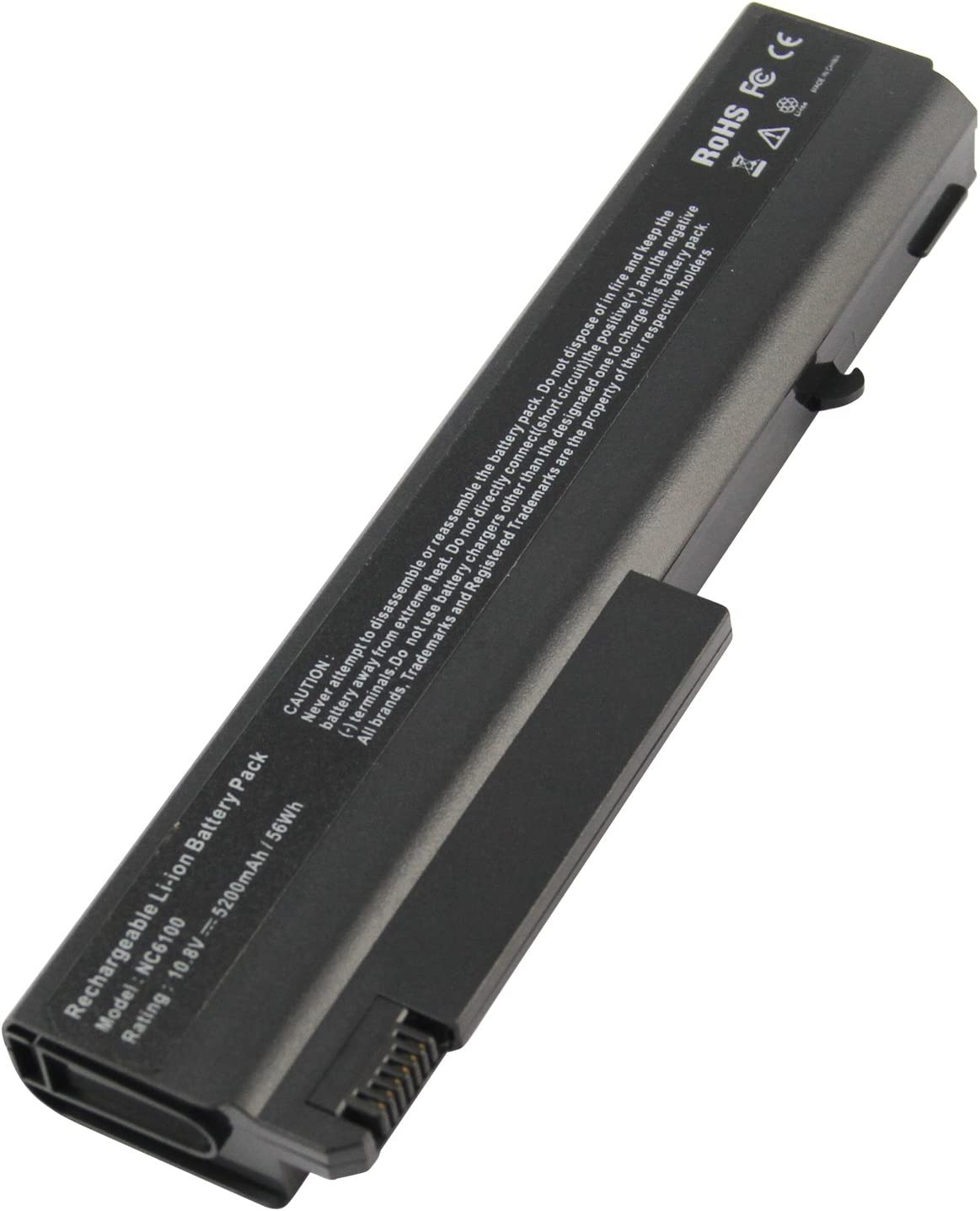 AC Doctor INC Laptop Battery for Hp Compaq Business Notebook NC6100 NC6200 NC6400 NX6000 NX6100 NX6110 NX6310 NX5100 NX6710, 5200mAh/10.8V/6-Cell