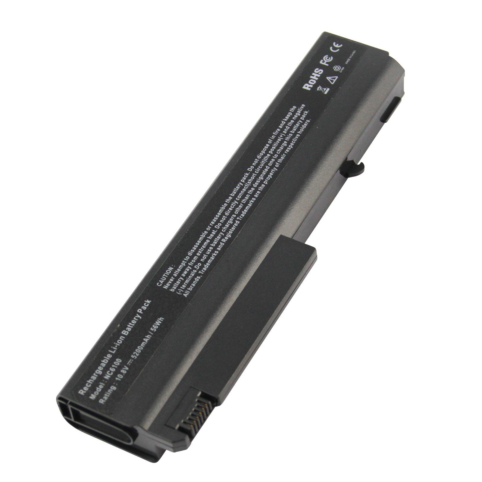 Bateria 5200mah Para Hp Compaq 6510b 6515b 6710b 6910p Nc6100 Nc8420 Nx6100 6710s 6715b 6910