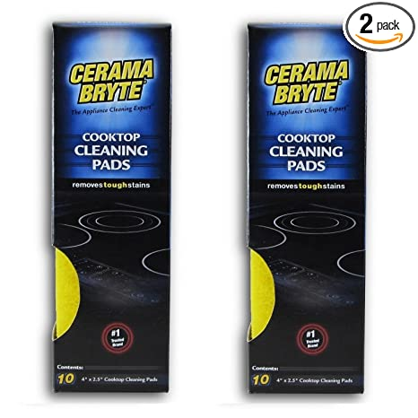 Amazon.com: Paños de limpieza Cerama Bryte para placa ...