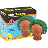 Chia Pet Tweety, Looney Tunes, Decorative Pottery Planter, Easy To Do and Fun To Grow, Novelty Gift, Perfect For Any Occasion (Contains Packets For 3 Plantings)