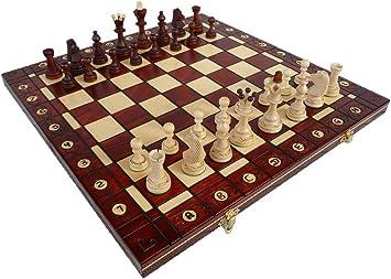 ChessEbook SENATOR - Ajedrez de Madera, Tablero de 40 x 40 cm