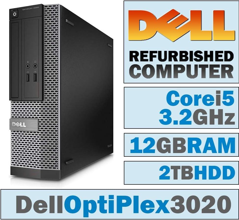 Dell OptiPlex 3020 SFF/Core i5-4570 @ 3.2 GHz/12GB DDR3/2TB HDD/DVD-RW/Windows 7 PRO 64 BIT