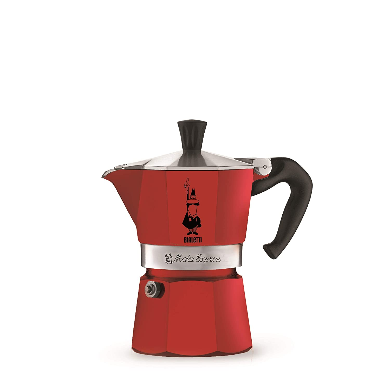 Bialetti 4942 Moka Express Espresso Maker, Red