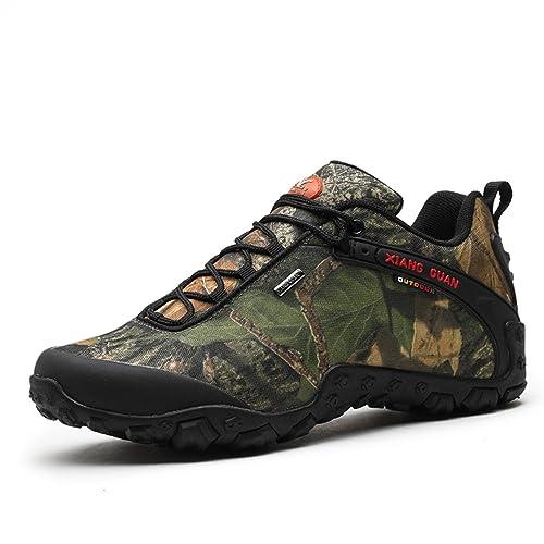 Zapatos de Deporte y Aire Libre, Zapatillas Resistente al Agua para Senderismo y Montaña Unisex 81289