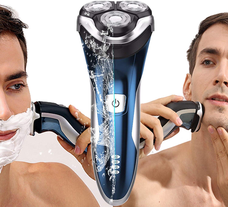 SweetLF Afeitadora Electrica Hombre Máquina de Afeitar Eléctrica Impermeable USB Quick Recargable: Amazon.es: Salud y cuidado personal