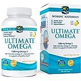 Nordic Naturals Ultimate Omega, Lemon Flavor - 1280 mg Omega-3-120 Soft Gels - High-Potency Omega-3 Fish Oil Supplement…