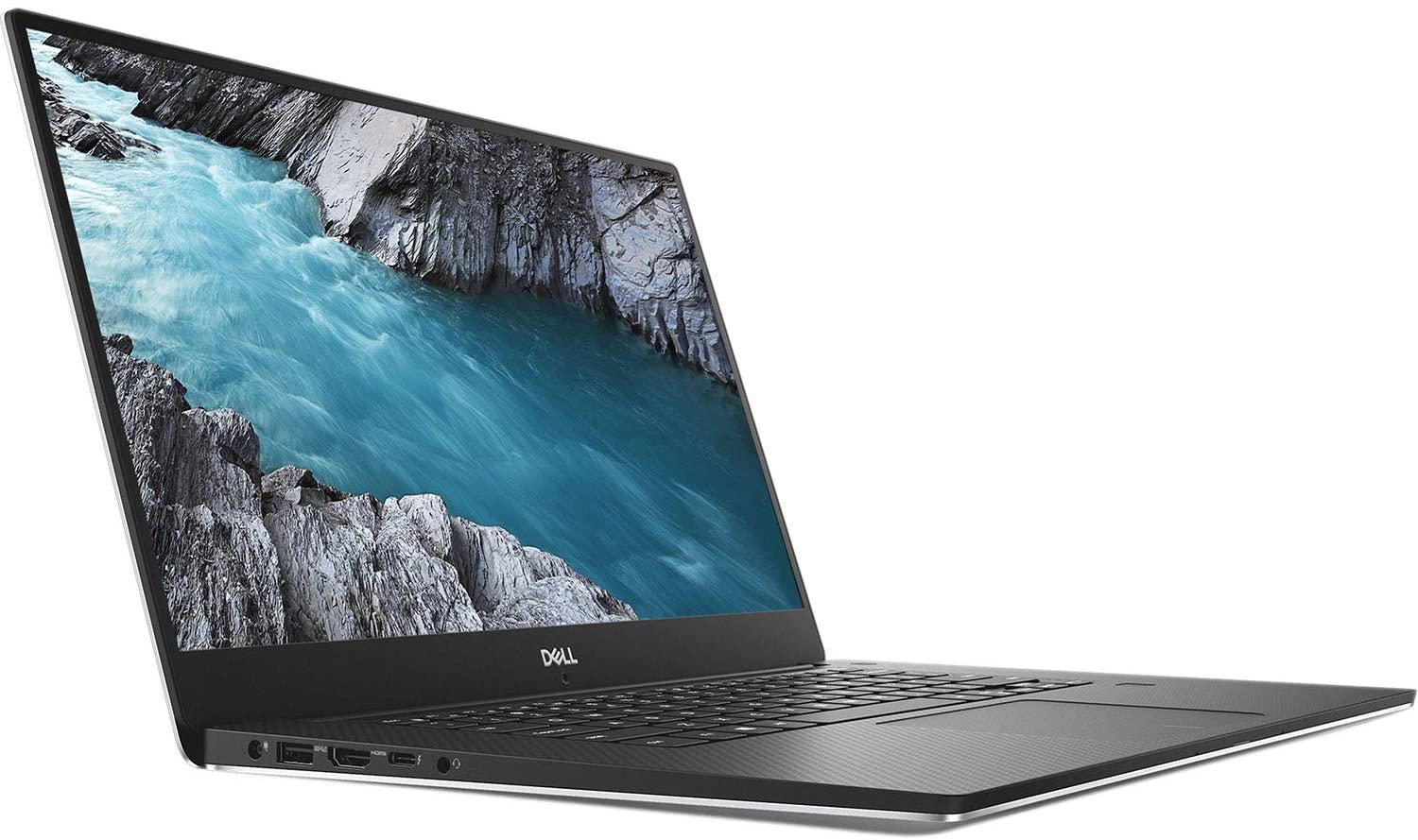 Dell XPS 15 9570 15.6in Touchscreen InfinityEdge 4K Ultra HD Laptop i7-8750H 32GB Memory 1TB SSD 4GB NVIDIA GeForce GTX 1050 Ti Windows 10 Home Silver (Renewed)
