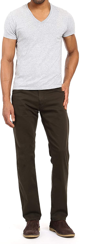 Mavi Men's Regular Rise Zach Straight Leg Pants