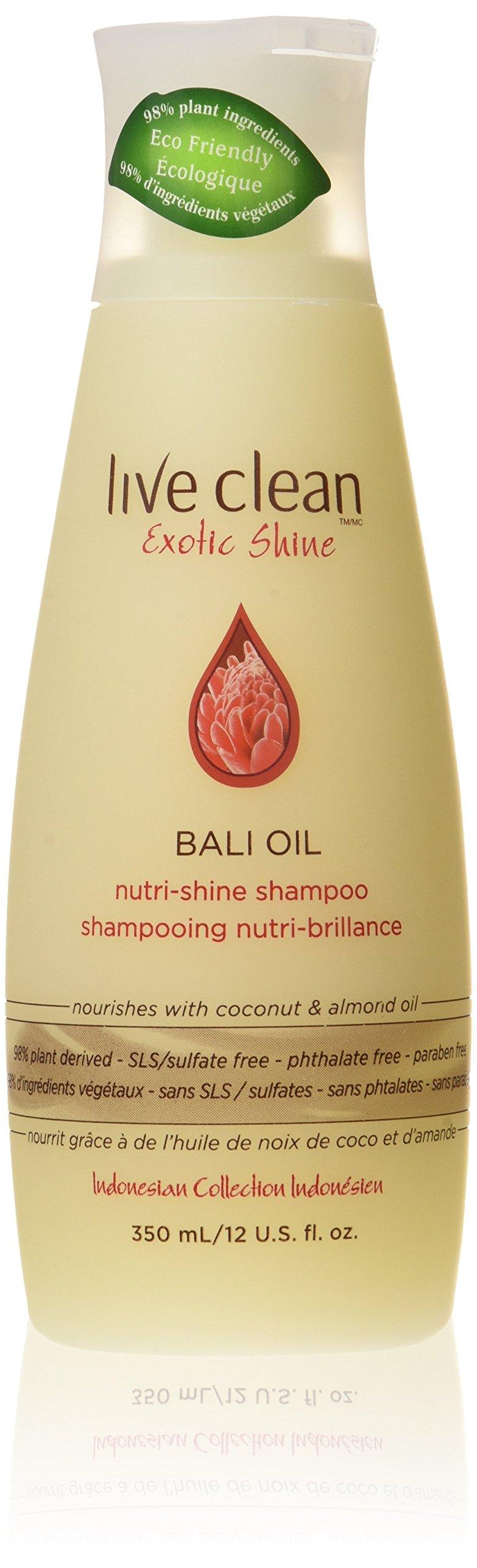 Live Clean Bali Oil nutri-shine shampoo, 350ml